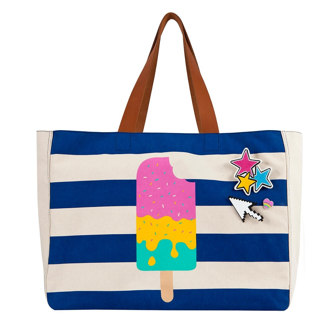 ICE CREAM BEACH BAG