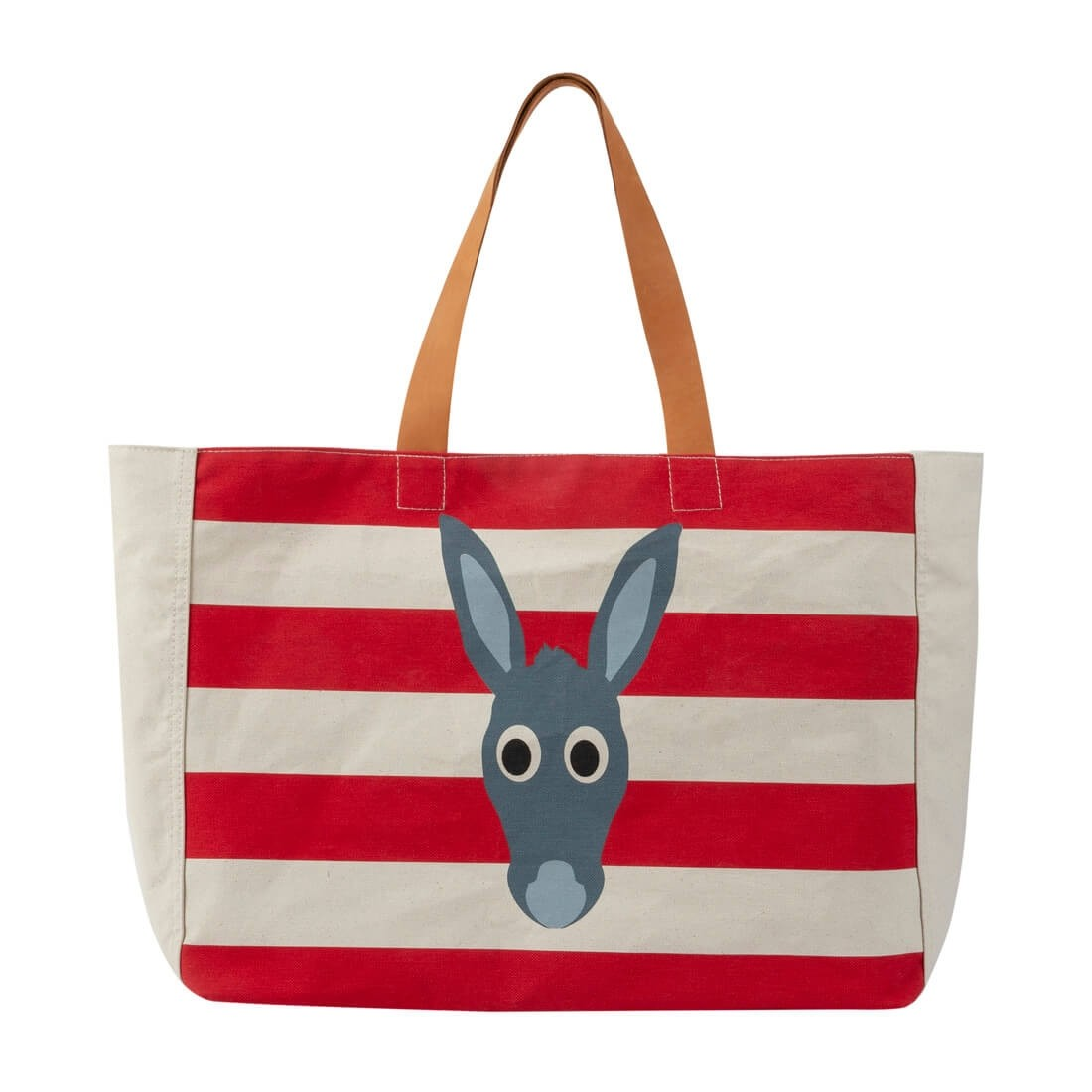DONKEY BEACH BAG RED