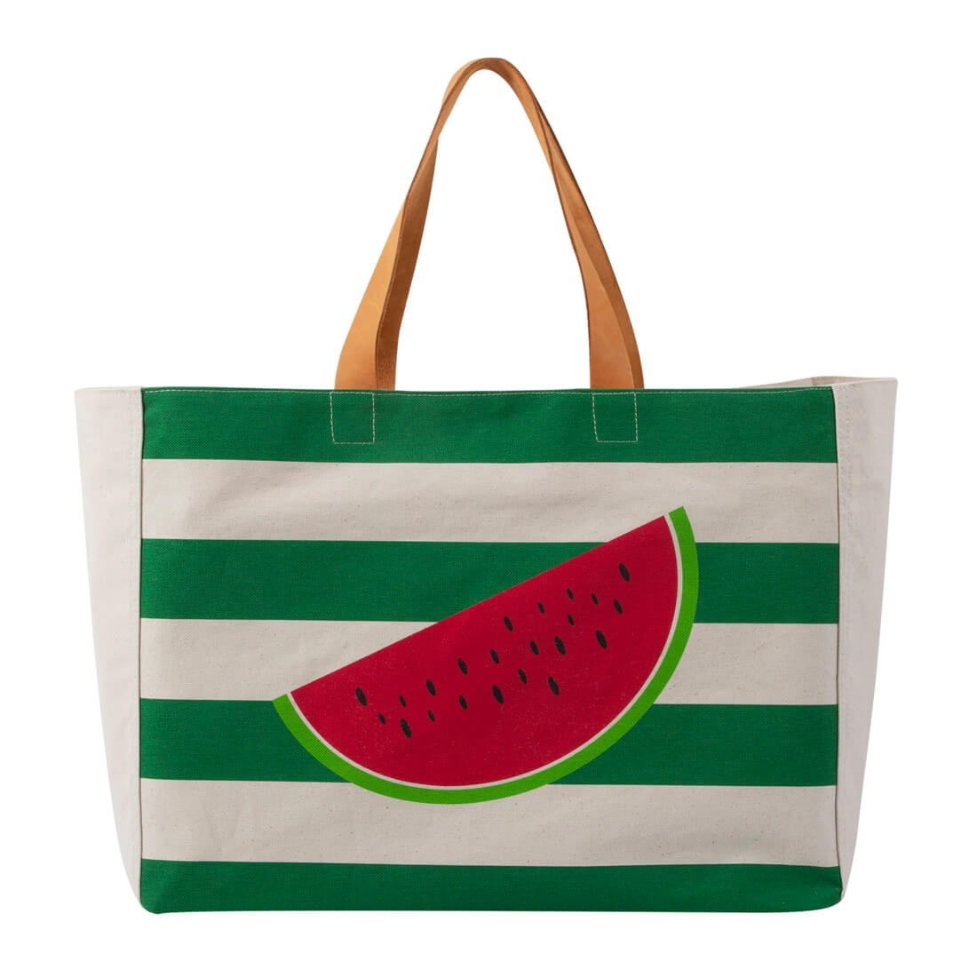 WATERMELLON BEACH BAG GREEN