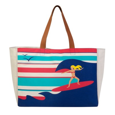 SURFER GIRL BEACH BAG