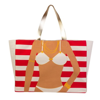 BIKINI GIRL BEACH BAG