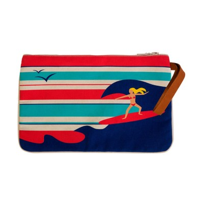 SURFER GIRL CLUTCH