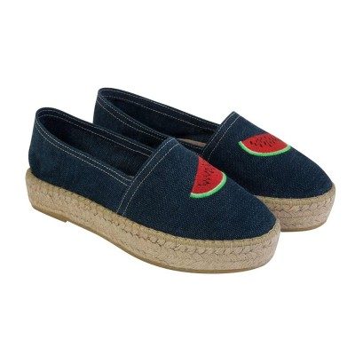 WATERMELON ESPADRILLES DENIM