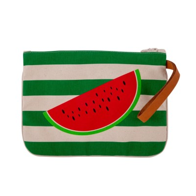 WATERMELON CLUTCH GREEN