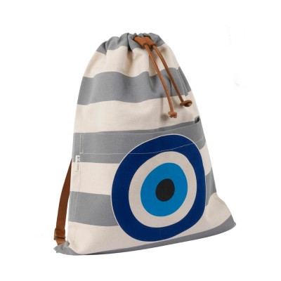 EVIL EYE BACKPACK GREY