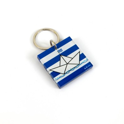 LITTLE PAPER BOAT KEY CHAIN