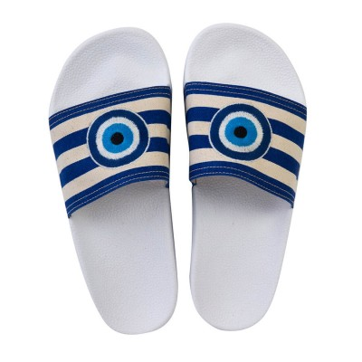 EVIL EYE POOL SLIDES